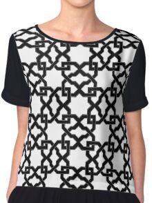 Geometric Pattern - Oriental Design rmx Chiffon Top