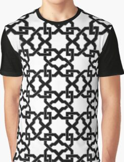 Geometric Pattern - Oriental Design rmx Graphic T-Shirt