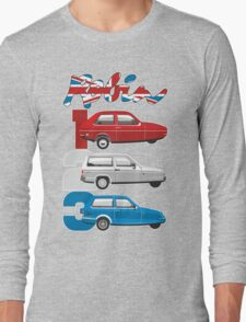 Reliant Robin evolution Long Sleeve T-Shirt