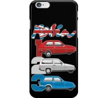 Reliant Robin evolution iPhone Case/Skin