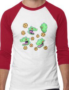 Cookie Dinosaur Men's Baseball ¾ T-Shirt