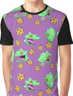 Cookie Dinosaur Graphic T-Shirt