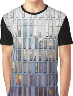 architecture illustration - graphic building facade Graphic T-Shirt