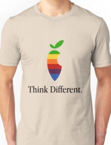 "Apple Parody Zootopia Carrot ""Think Different"" Logo Unisex T-Shirt"