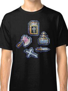 Castelvania Sub-Weapons Set Classic T-Shirt