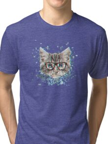 Dexter the All-Cat Tri-blend T-Shirt