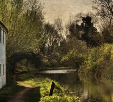 Cottage By The Kennet And Avon Canal Sticker