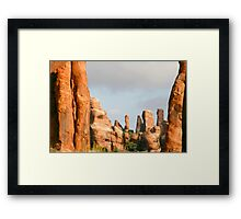 Arches 008 Framed Print