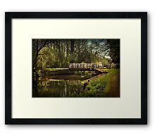 Late Afternoon On The Kennet and Avon Framed Print