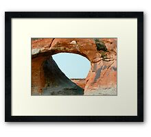 Arches 010 Framed Print