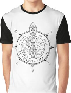 Ucharted Compass Graphic T-Shirt