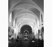 The Benedictine Sanctuary ~ Black & White Unisex T-Shirt