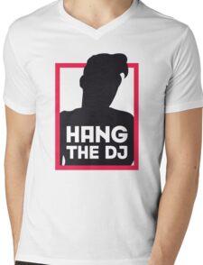 Hang The DJ Mens V-Neck T-Shirt