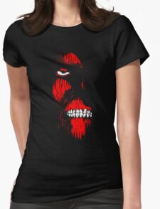 Red Face Titan Womens Fitted T-Shirt