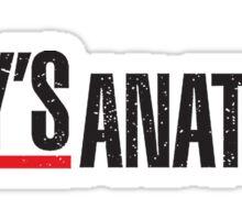 Greys Anatomy Sticker
