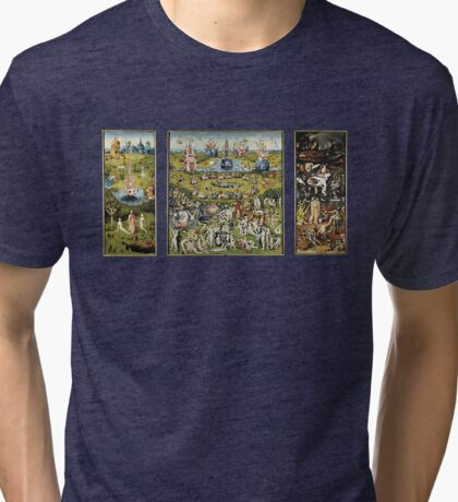 The Garden Of Earthly Delights Tri-blend T-Shirt