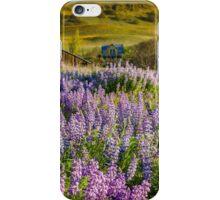 Lupine wildflower meadow iPhone Case/Skin