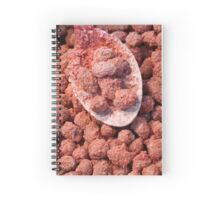 Caramelized peanuts Spiral Notebook