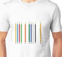 Pencils color set Unisex T-Shirt