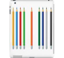 Pencils color set iPad Case/Skin