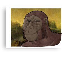 Mona Lucy smile Canvas Print