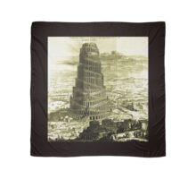 Tower of Babel, KIRCHER'S Turris Babel (1679) Scarf