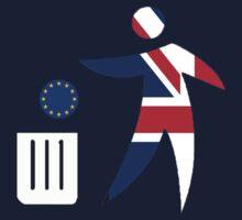 Toss the EU in the bin Kids Tee