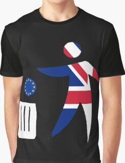 Toss the EU in the bin Graphic T-Shirt