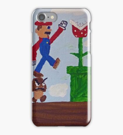 Goomba Stomp iPhone Case/Skin