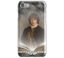 Outlander/Book with Jamie iPhone Case/Skin