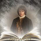 Outlander/Book with Jamie by Sassenach616