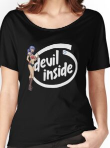 There's a Devil inside Women's Relaxed Fit T-Shirt