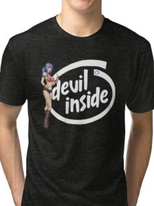 There's a Devil inside Tri-blend T-Shirt