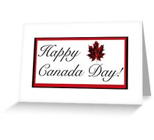 Happy Canada Day! Card Greeting Card