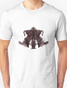 Rorschach Ink Blot 4 Unisex T-Shirt