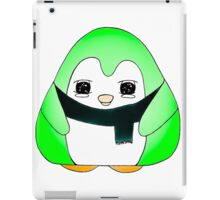 Minty Green Gum Drop Penguin iPad Case/Skin