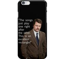 Excellent Rectangle iPhone Case/Skin