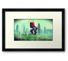 No Man's Sky Framed Print