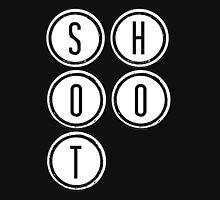 Shootdown (white) Unisex T-Shirt
