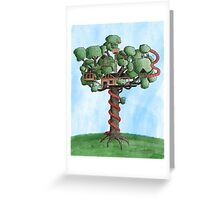 Dream Treehouse Greeting Card