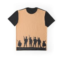 Army silhouette  Graphic T-Shirt