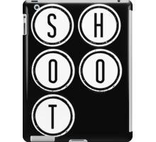 Shootdown (white) iPad Case/Skin