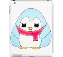Cloud Blue Gum Drop Penguin iPad Case/Skin