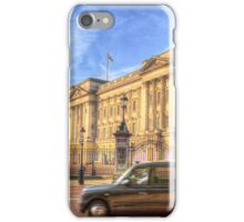 London Taxi And Buckingham Palace  iPhone Case/Skin