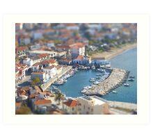 Miniature Port Art Print
