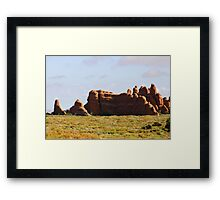 Arches 013 Framed Print
