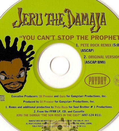Jeru the Damaja Single promo Sticker