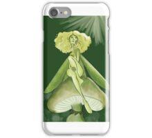 Mushroom moss fairy iPhone Case/Skin