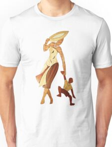 African woman with child Unisex T-Shirt