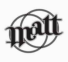 Matt ambigram Baby Tee